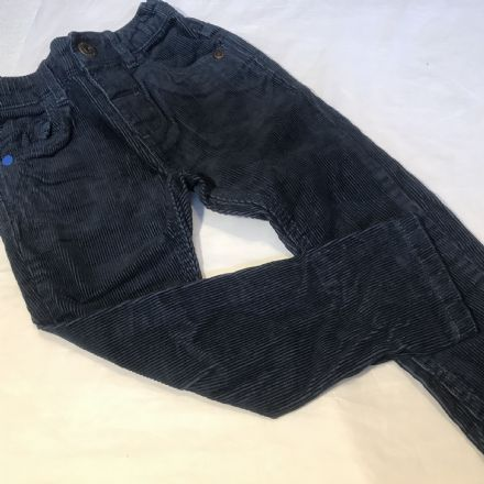 12-18 Month Navy Cord Trousers